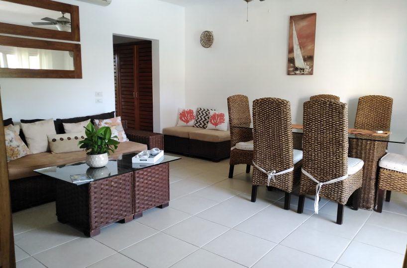 for rent apartment center and beach of Las Terrenas